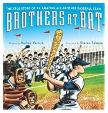 Picture book Brothers at bat