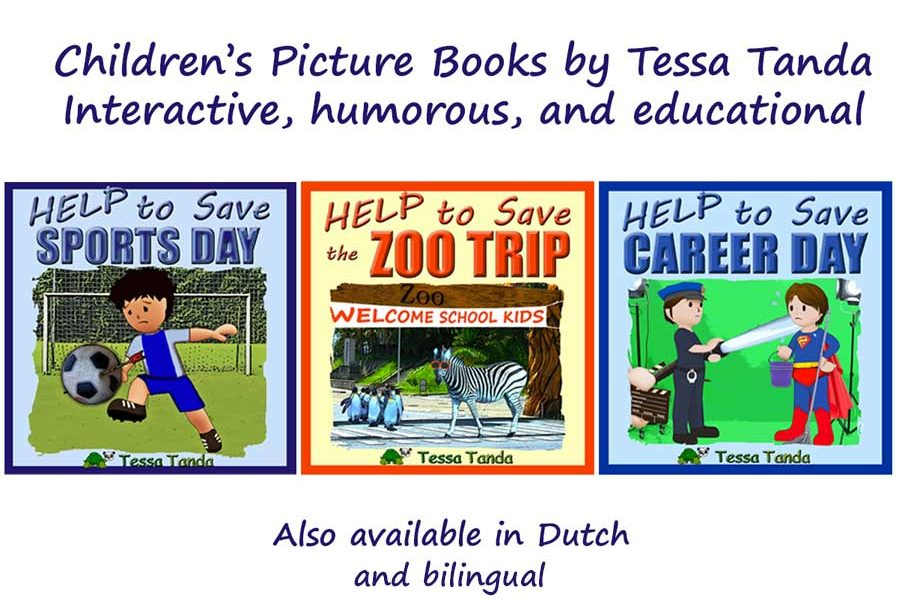 Help to save series by Tessa Tanda